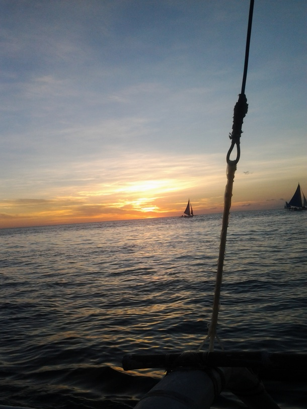 Boracay's Picturesque Sunset