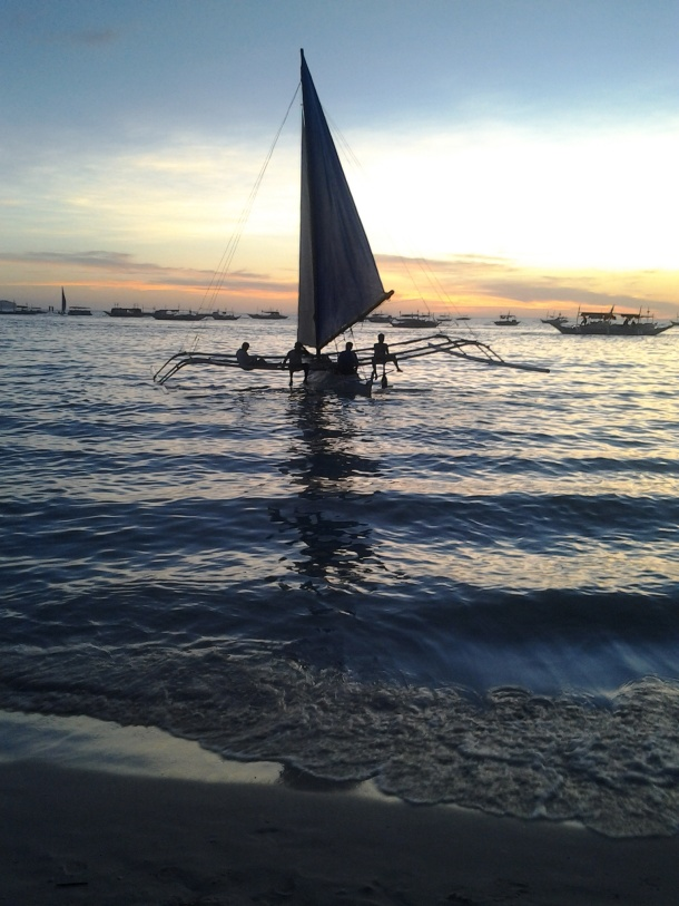 Words Cannot Express the Beauty of the Sunset in Boracay