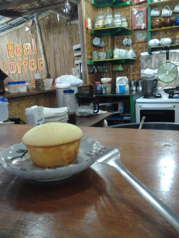 Real Coffee and Tea house specialty Calamansi Muffin (I promise to make one this holiday season; my only wish it would taste like it)