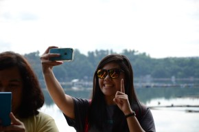 7 Selfies in the 7 Lakes of San Pablo, City Laguna