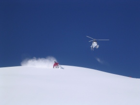 You Think You Know Skiing—But You Haven't Tried It With A Helicopter Yet